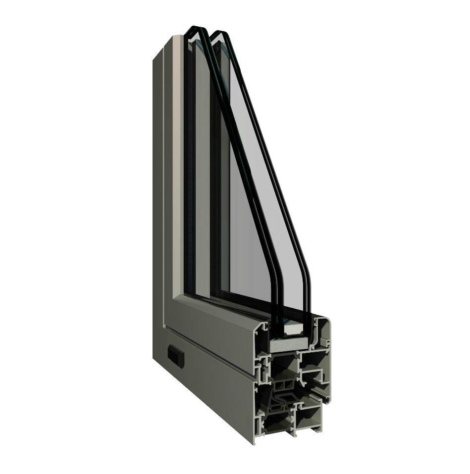 Finestre in alluminio pianeta finestra - Finestre a taglio termico ...
